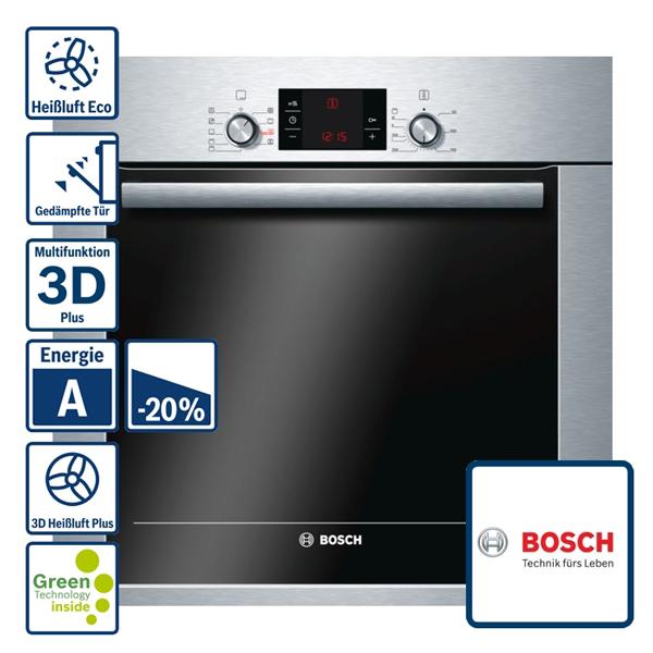 Oven, Bosch-HBG33B450